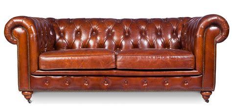 canape cuir vintage canape chesterfield 3 places maison design modanes com