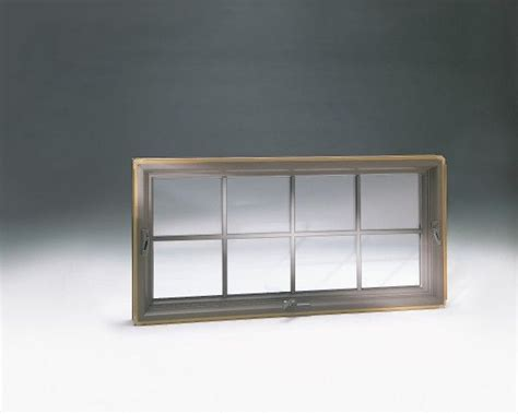 Awning Window With Colonial Style Grilles