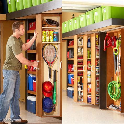 ways  organize  garage  fall  family handyman