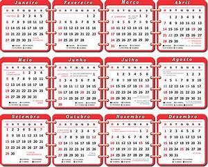 Grade Calendário 2019 Feriado Nacional Imagem Legal