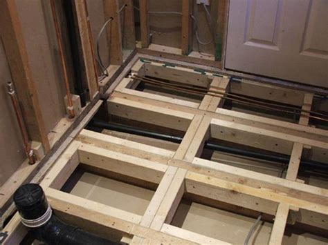 strengthen floor joists beste awesome inspiration bath design   pinterest
