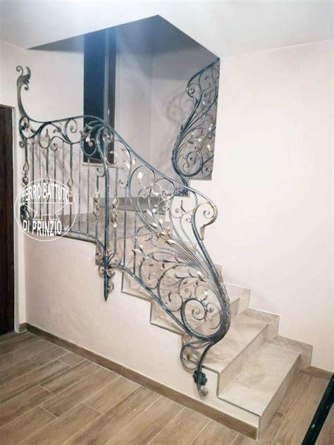 ringhiera scale balaustre interne in ferro scale in ferro battuto