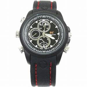Waterproof HD Spy Camera Watch