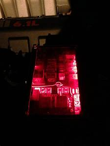 2006 Charger Fuse Box