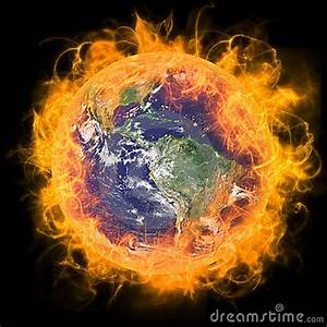 Real Earth Planet In Yellow Sun Royalty Free Stock Image ...