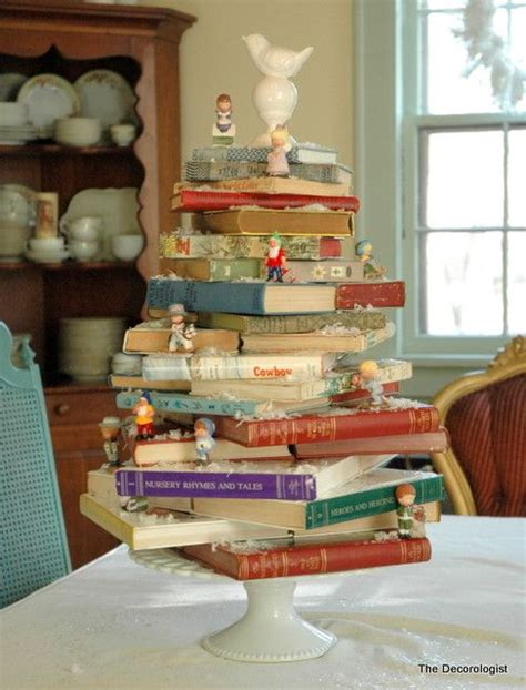 Decorating Ideas Using Books by 17 Ways To Use Books As Decorations