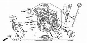 Honda Engines Gcv530u See2 Engine  Jpn  Vin  Gjadk