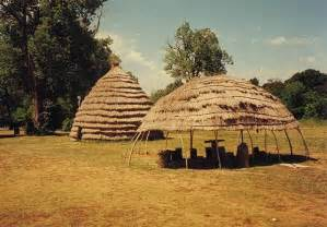 Caddo Indian Tribe Houses