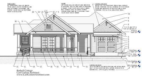 adu cottage creating  design drawings carl colson