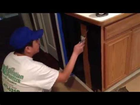 cost to stain cabinets gel stain glazing kitchen cabinet dark walnut cost