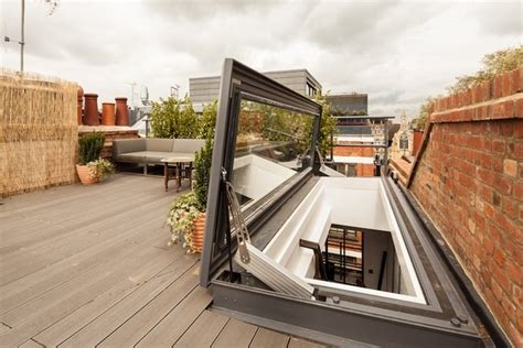 dachluke mit treppe dachterrasse t 252 r zugang zum dach dachluke mit treppe innenarchitektur und dekoration ideen