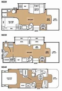 motorhome floor plans class c meze blog With toterhome floor plans