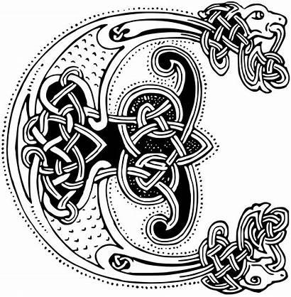 Celtic Clipart Clip Gaelic Transparent Drawing Svg
