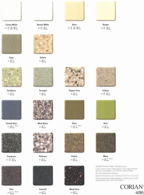 Corian Colors Corian Colors Colors Of Corian Dupont See Why Corian