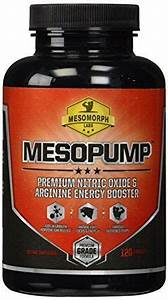 Nitric Oxide Supplement For Energy Building Muscle