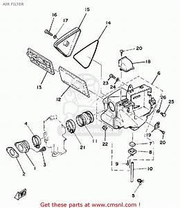 Yamaha Xt 250 Parts