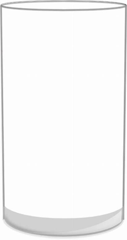 Empty Glass Cliparts Clipart Clip Domain Clker