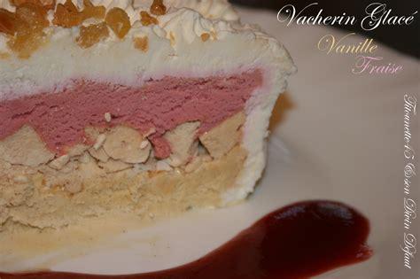 vacherin glace express vanille fraise les recettes de titounette45