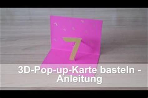 video  pop  karten basteln anleitung