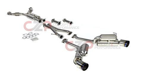 Dna Exhaust System by Dna Motoring True Dual Catback Exhaust System W Burnt