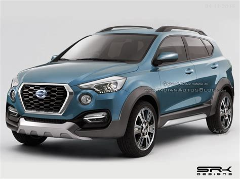Datsun Cross Image by Datsun Go Cross Rendered In Production Form India Launch