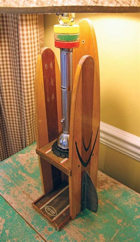 hometalk repurposed upcycled vintage water ski