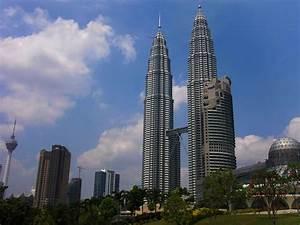 Petronas twin towers desktop wallpapers view