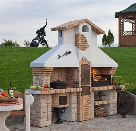 Grill Ofen Für Garten  Nowaday Garden