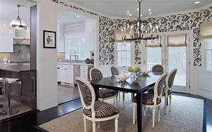 Black And White Paisley And Zebra Stripes Interiors By Color