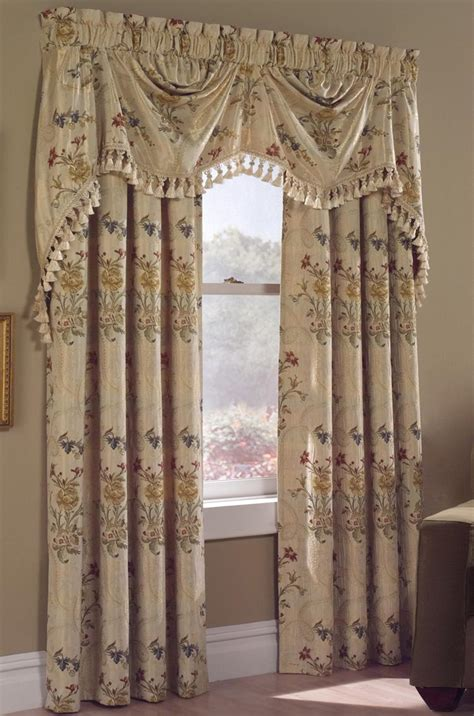 country curtain valance window treatments design