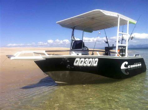 Boat Canopy Townsville by Cheyne Shades Canvas Marine Trimming Canopies Covers