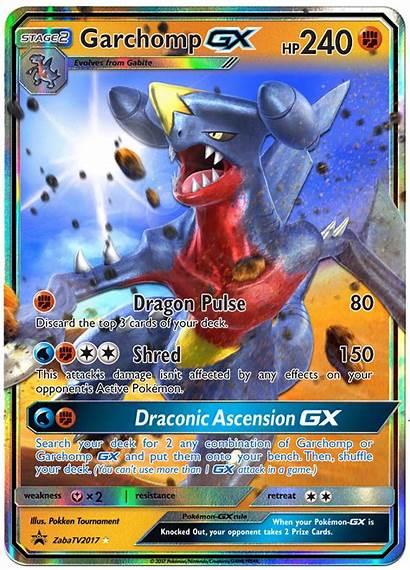 Gx Pokemon Card Custom Garchomp Cards Legendary