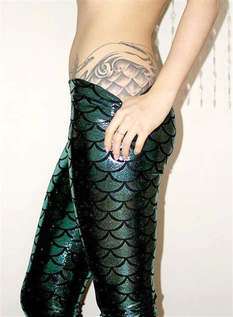 mermaid scales tattoo designs  girls