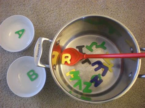 alphabet soup amp other active letter activities sugar tot 689 | 2b73b54de3a19b254eef63e12f656f80