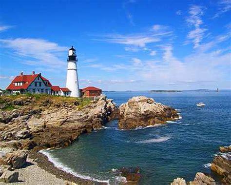 Da Boston a Portland lungo la Costa Atlantica del North ...