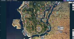 Call Of Duty Black Ops 4 Interactive Blackout Map Is