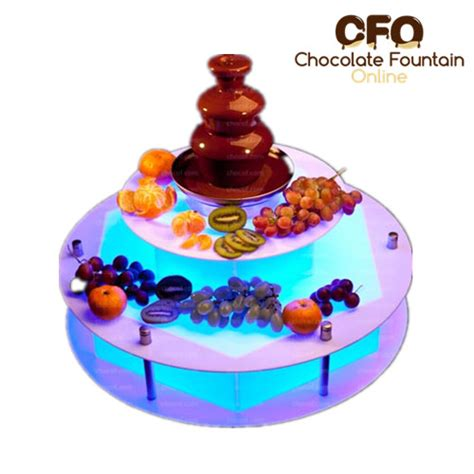 Chocolate Decorations Wholesale do you provide decorations around chocolate fountain