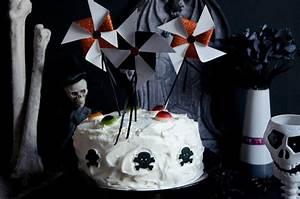 Gateau D Halloween : g teau d 39 halloween aux myrtilles et diy ~ Melissatoandfro.com Idées de Décoration
