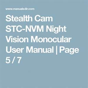 Stealth Cam Stc