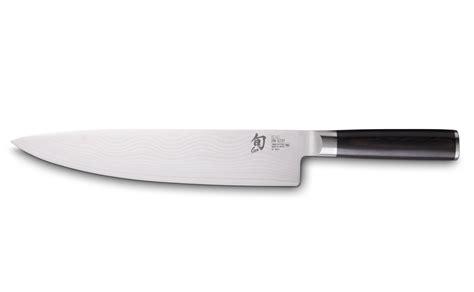 couteau cuisine damas shun damas 25 cm couteau de cuisine colichef