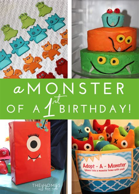 monster    birthday party  homes