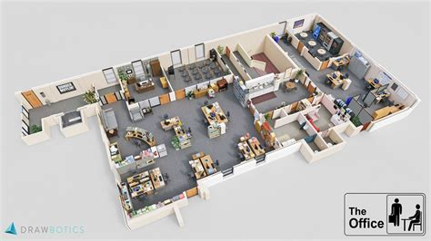 arri鑽e plan de bureau mad the office d 233 couvrez les plans en 3d des