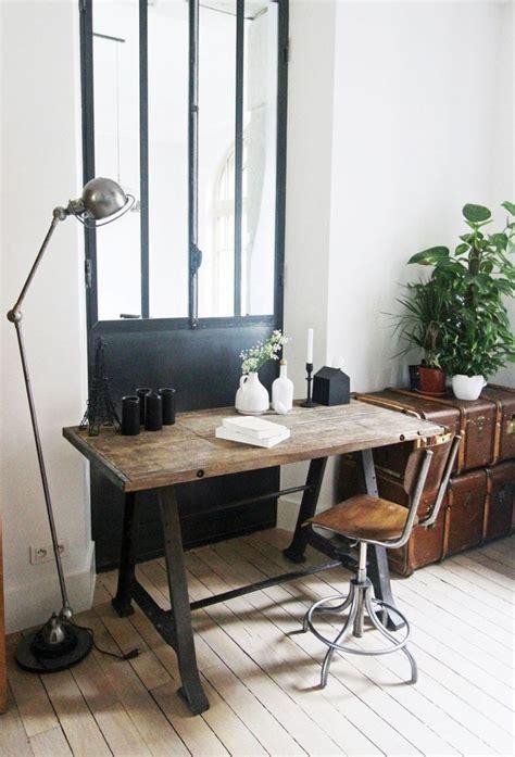 bureau en fer mille et une idées en photos pour la le de bureau