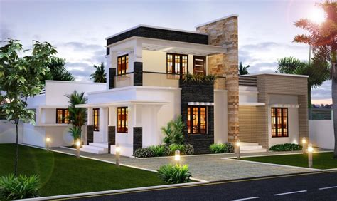 Modern and Stylish Luxury Villa Designs India Design Plan