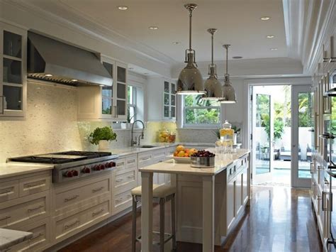 Long Narrow Kitchen Top Narrow And Long Kitchen Designs