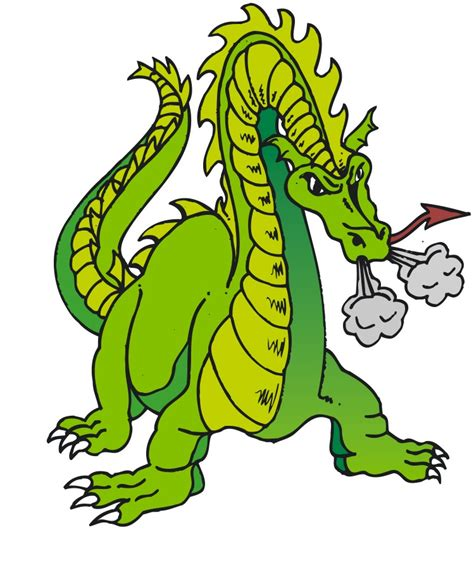 Green Dragon Clipart
