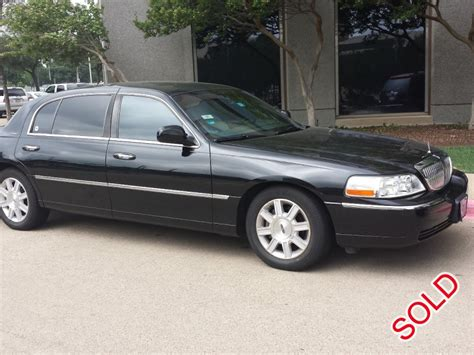 2011 Lincoln Town Car by Used 2011 Lincoln Town Car L Sedan Limo Dallas
