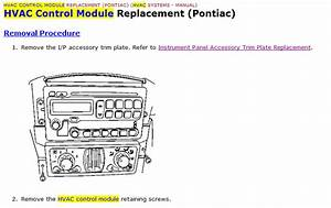 I Have A 2005 Pontiac Aztek  For Years  My Fan Blower Control Knob Only Worked At Settings 3 And