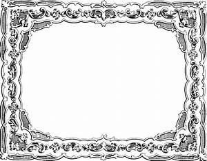 Clipart - Vintage Fancy Frame
