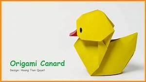 Origami Animaux Facile Gratuit : origami facile animaux origami canard youtube ~ Dode.kayakingforconservation.com Idées de Décoration